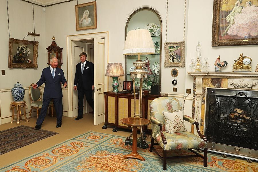 Inside Prince Charles and Camilla's official residence, Clarence House, as the royal couple return to London