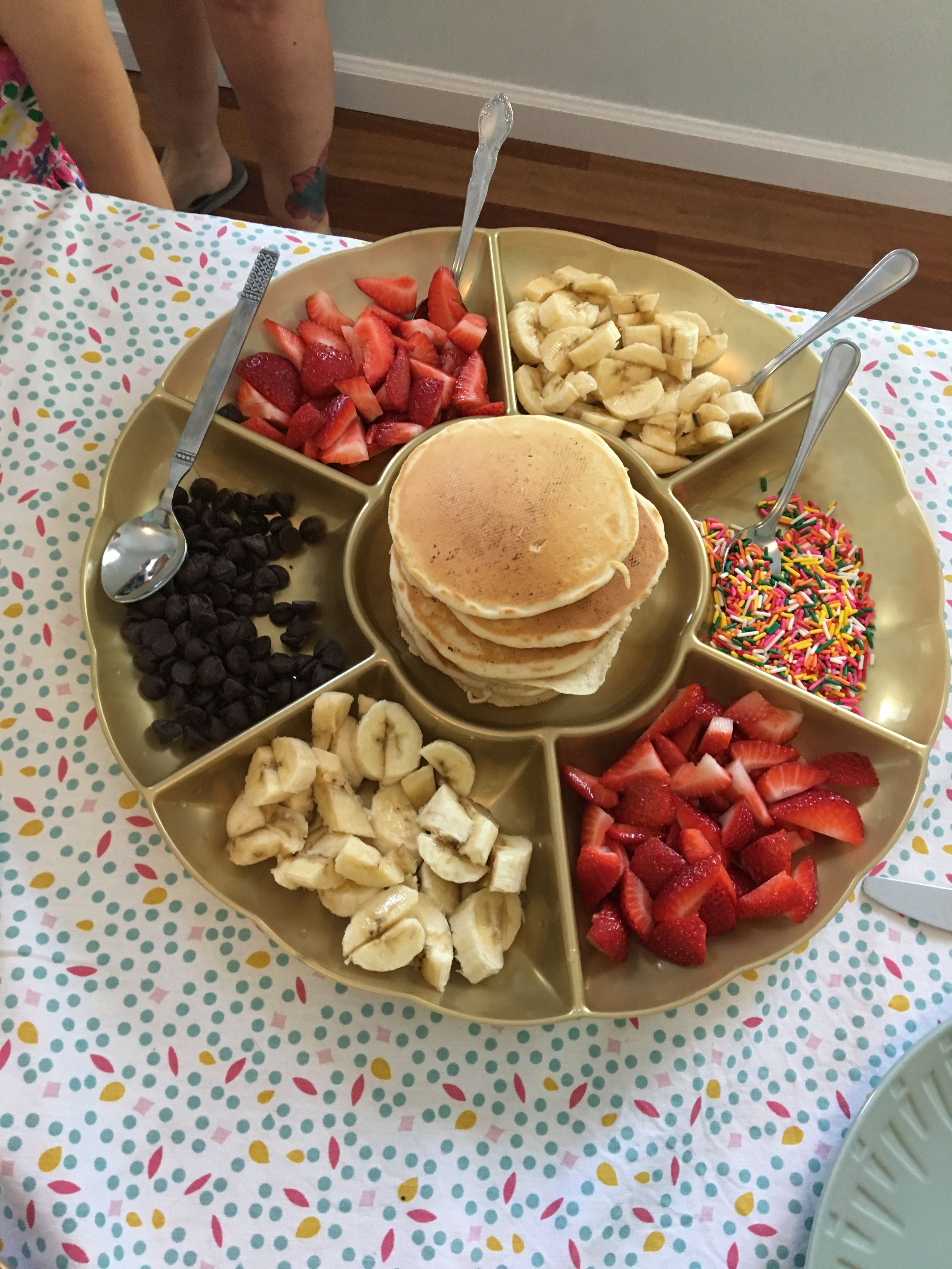 Pancakes with Toppings