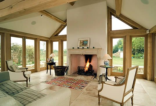 Oak frame homes directory of oak frame architects cob for Design my own home extension