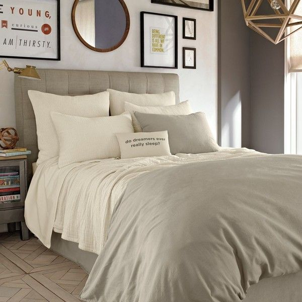 Kenneth Cole Reaction Home Mineral, Kenneth Cole Bedding Oatmeal