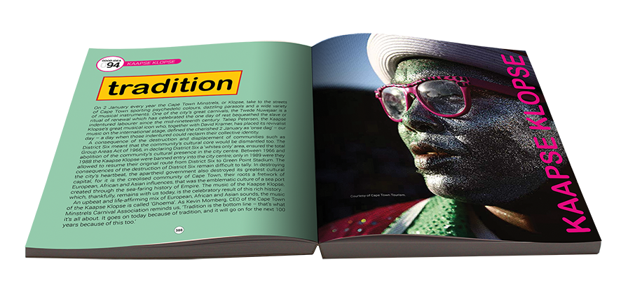 Tradition Kaapse Klopse Text And Images Taken From 100 Good Ideas By Brendon Bell Roberts And Ashraf Jamal Publis Culture Shock Nonfiction Books Book Cover