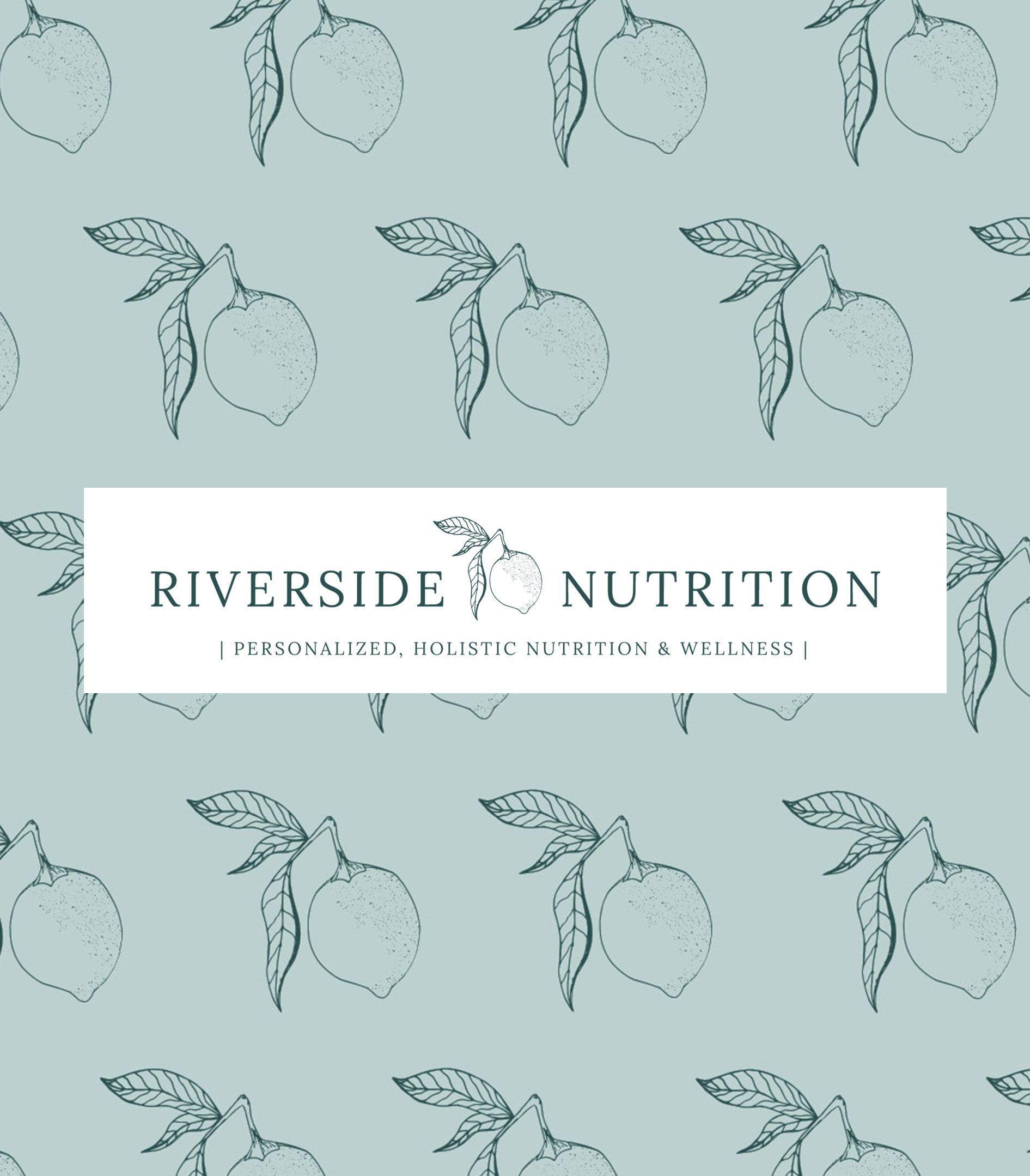 Modern, Farmhouse logo design for Riverside Nutrition. Logo design with a lemon....,Modern, F...