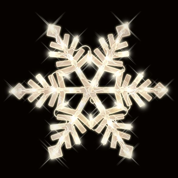 Snowflake Christmas Window Decoration At