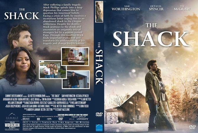 The Shack (2017) DVD Custom Cover | CUBA | Pinterest | The ...