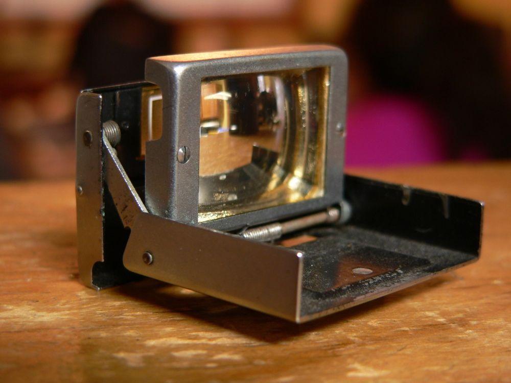 Vintage Zeiss Ikon 433/24 Folding Albada 50mm Viewfinder for