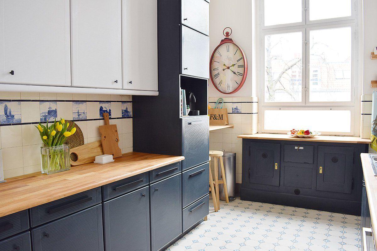 Kitchen Makeover - The BIG Reveal!!! | Laminate kitchen ...