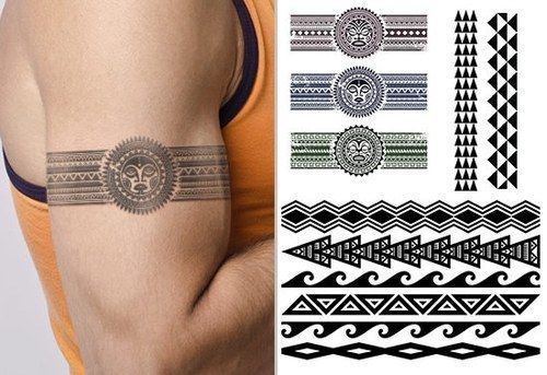 Hawaiian Tattoo Armband Tattoos For Men Band Tattoos For Men Armband Tattoo Design