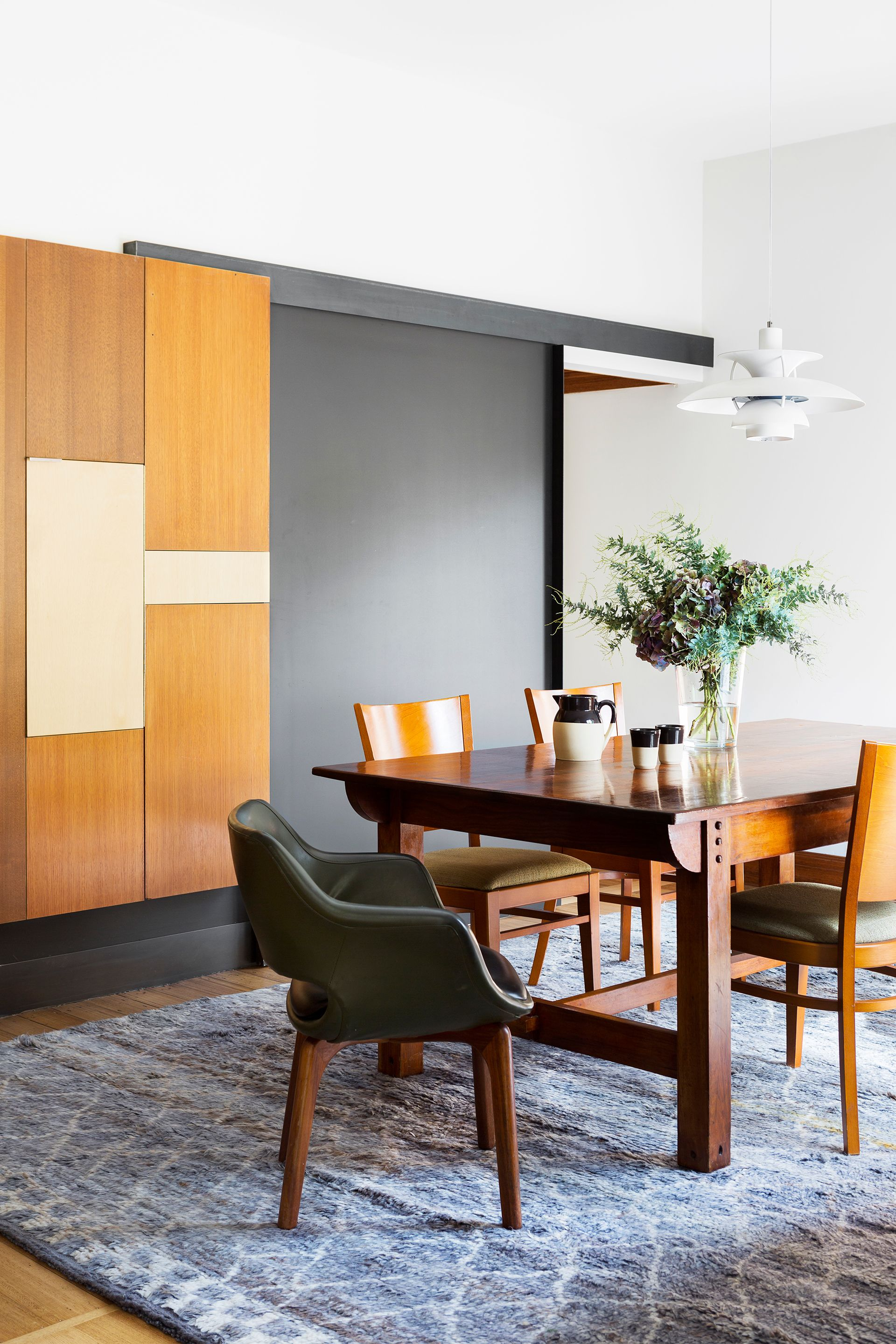 This Dining Room In A Renovated Former Hostel In Melbourne Draws  Inspiration From Mid Century