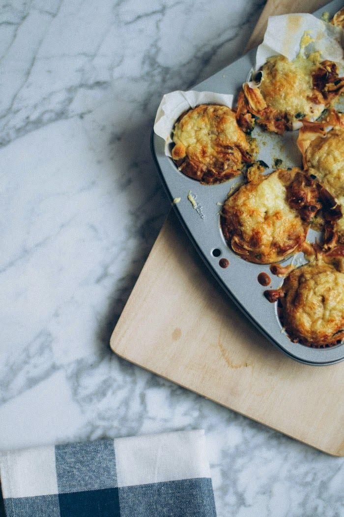 Receta magdalenas de verduras fácil : via La Chimenea de las Hadas