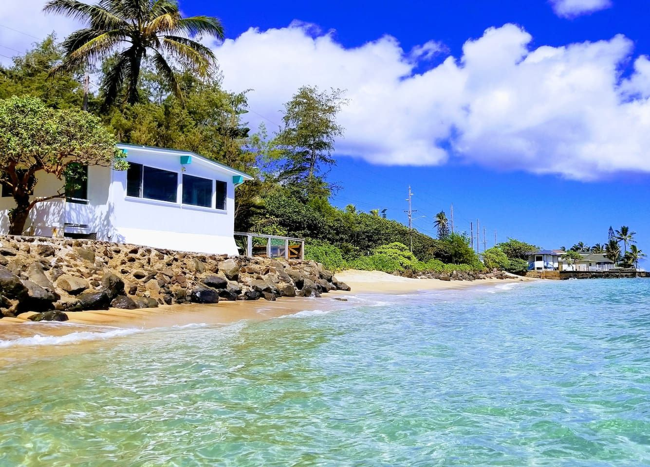 Oceanfront House On Secluded Beach With