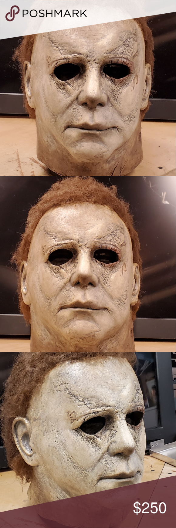 2018 Michael Myers Mask This is a fully customized and