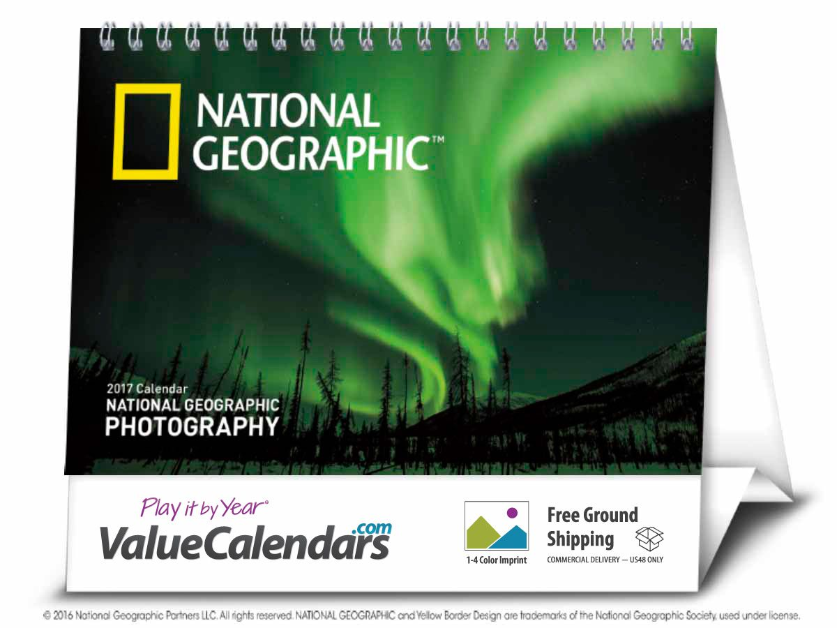 2017 National Geographic Photography Large Desk Calendar | 7-1/2  x 6  sc 1 st  Pinterest & 2017 National Geographic Photography Large Desk Calendar | 7-1/2 ...