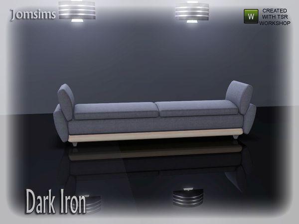 jomsims' dark iron sofa 2