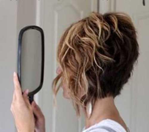 15 Short Inverted Bob Haircuts How To Curl Short Hair Short
