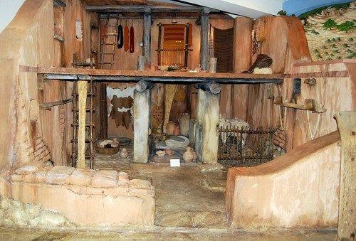 22 November 2008 Ferrell S Travel Blog Ancient Israelites House Ancient Bethlehem