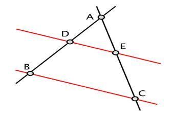 Ejercicios Psu Matemática El Teorema De Thales Sobre Trazos Proporcionales Matematicas Geometría Ejercicios