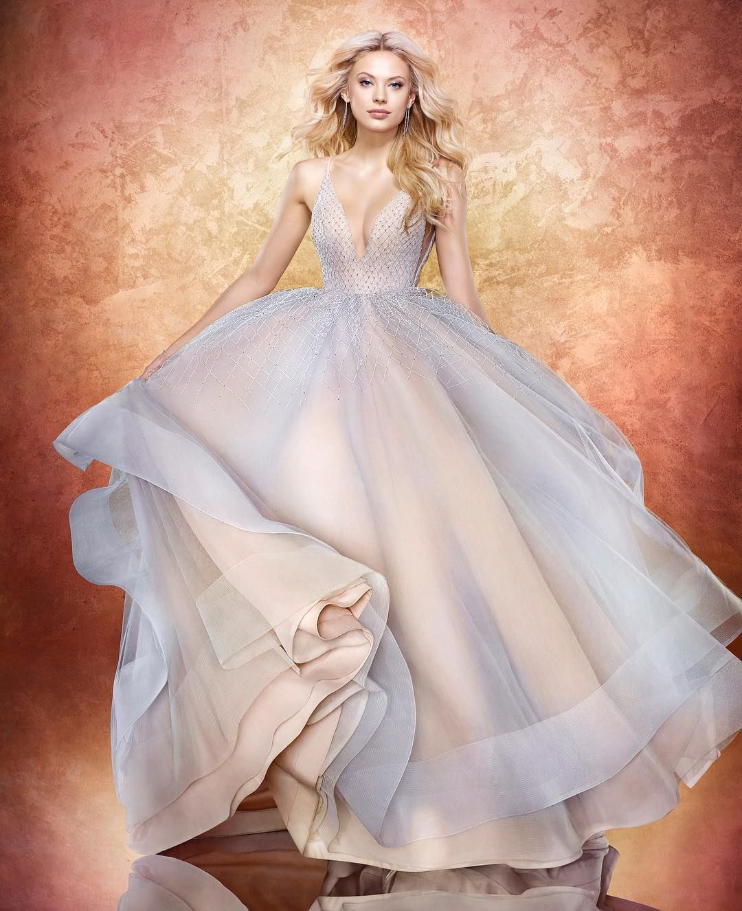 Brides looking for a fairytale gown need look no further than this