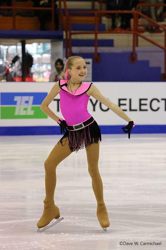 Elena Radionova - Pink Figure Skating / Ice Skating dress inspiration for Sk8 Gr8 Designs.