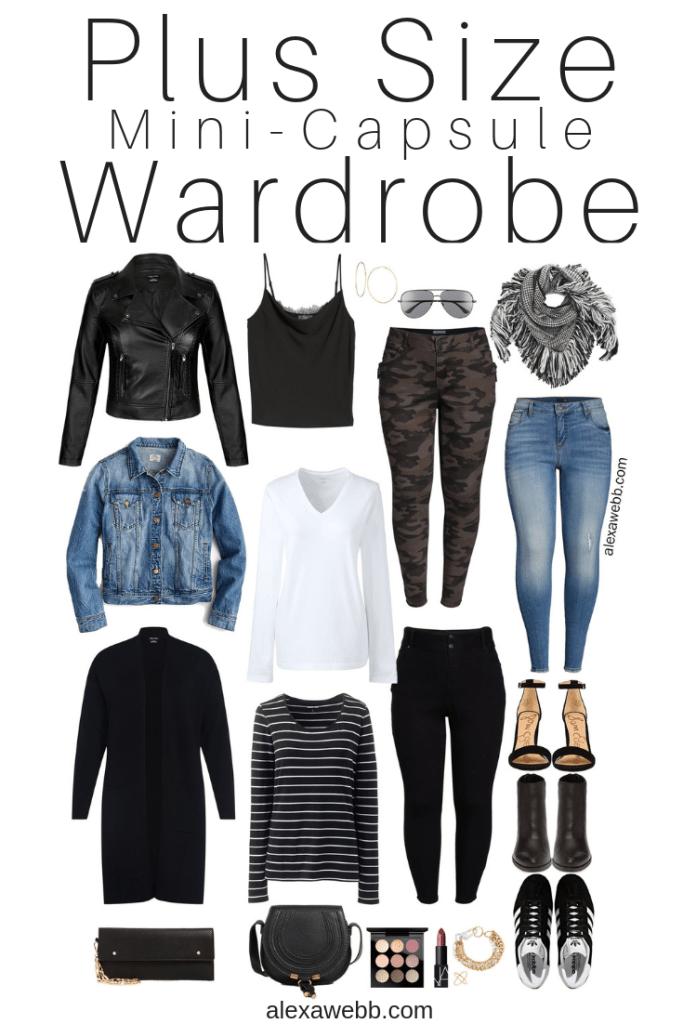 Plus Size Fall Monochromatic Basics Capsule Wardrobe - Plus Size Fashion for Women -…