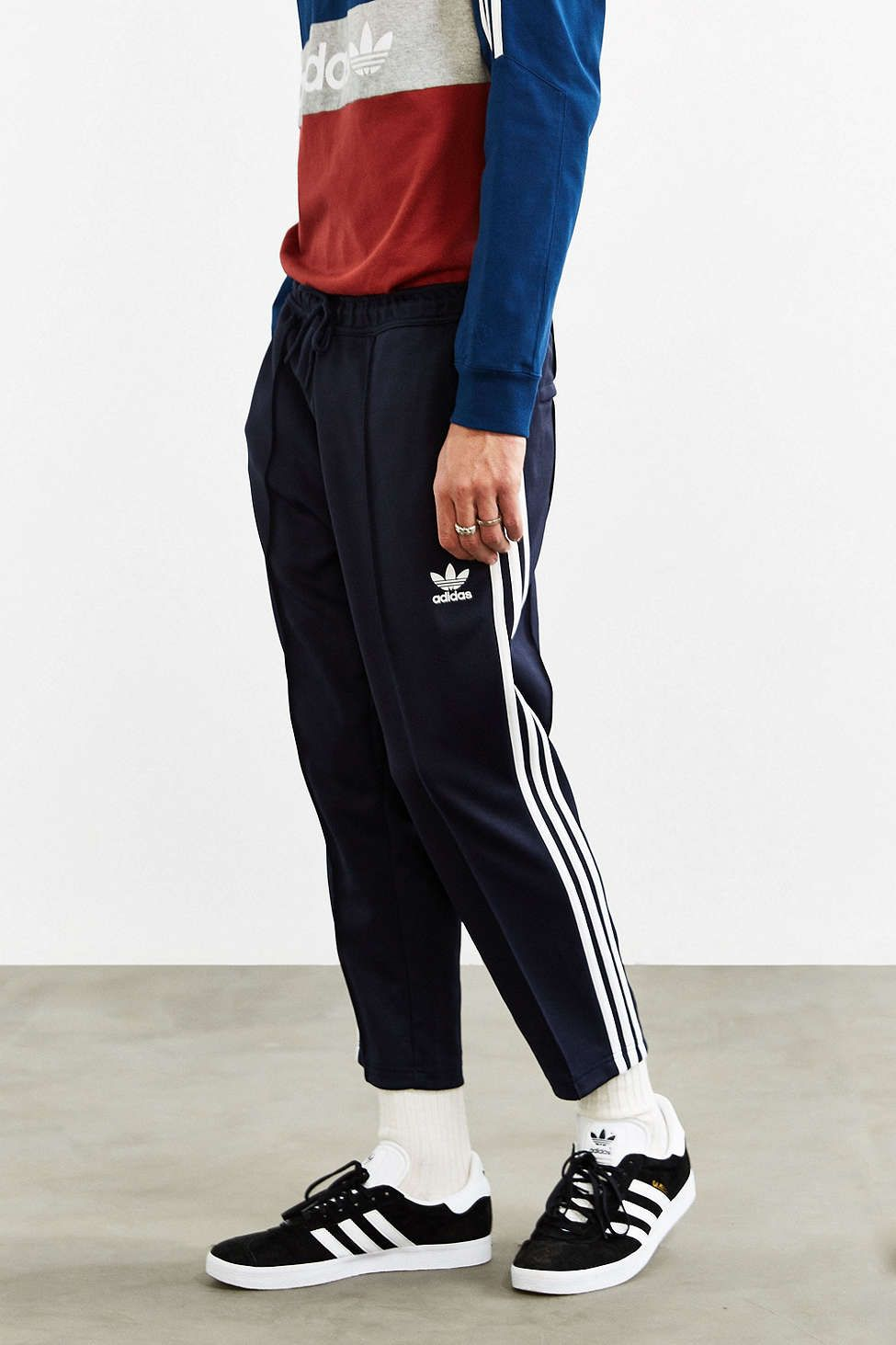 info for d4d75 ceafd adidas Superstar Relaxed Cropped Track Pant | Birthday 2017 ...