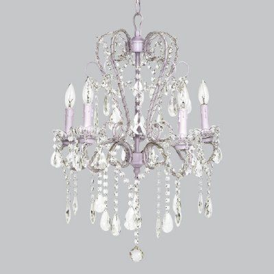 Whimsical chandelier lavender for girls rooms kids bedroom whimsical chandelier lavender for girls rooms mozeypictures Image collections