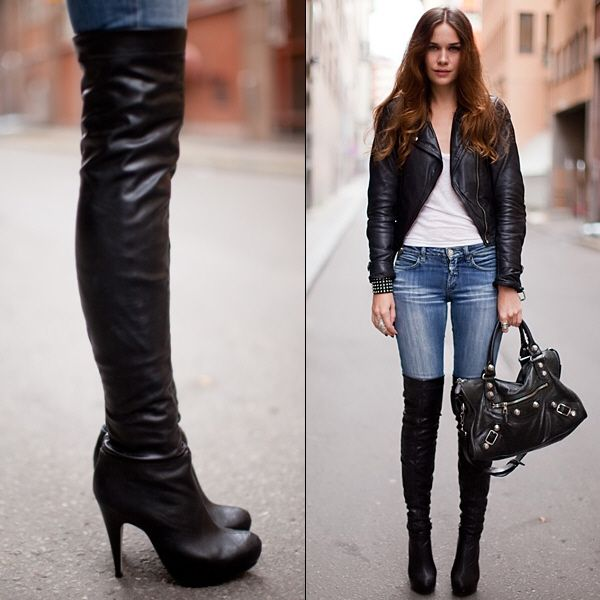 Boot Your Way To Style | Sexy, High boots and Thigh highs