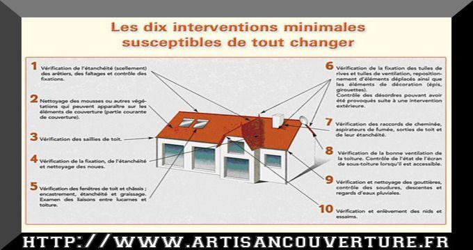 point de controle toiture