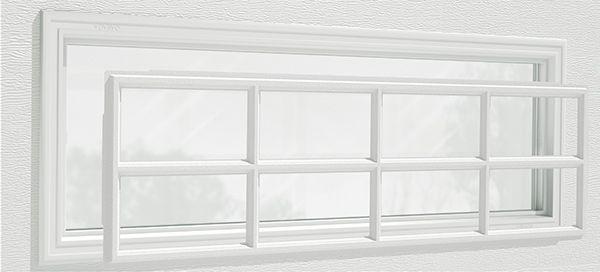 Clopay Window Insert Short Panel Colonial 509 Garage Door Windows Garage Door Window Inserts Window Inserts
