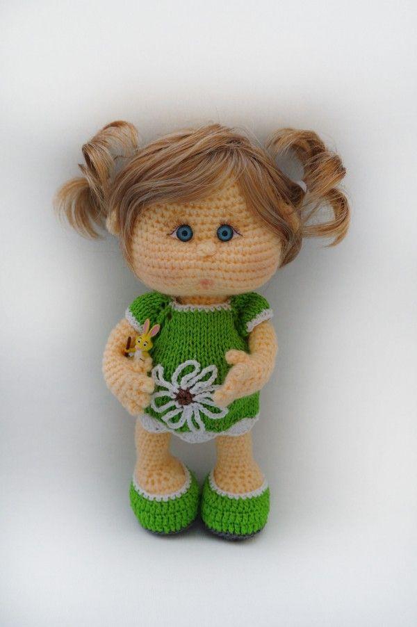 Puppe Häkeln Babypuppe Häkeln Anleitung Muñecos Pinterest