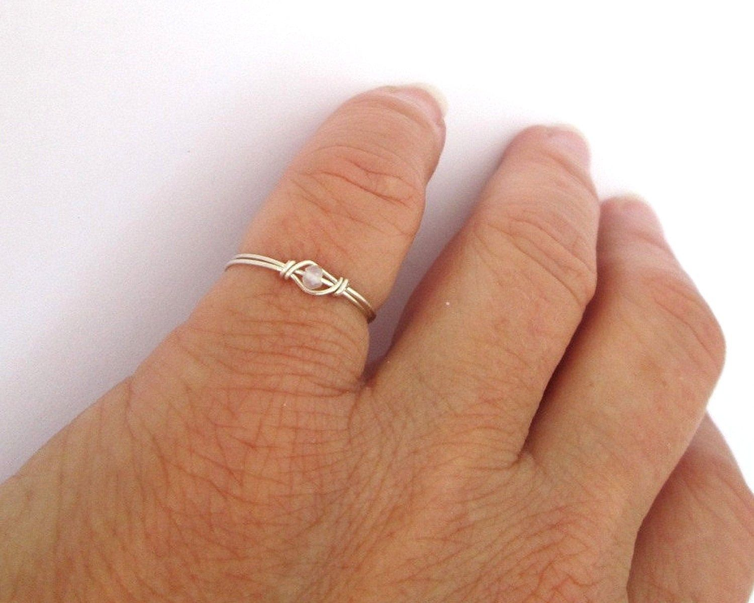 Ring Sterling Silver Filled     sizes 3-12 Thumb Ring