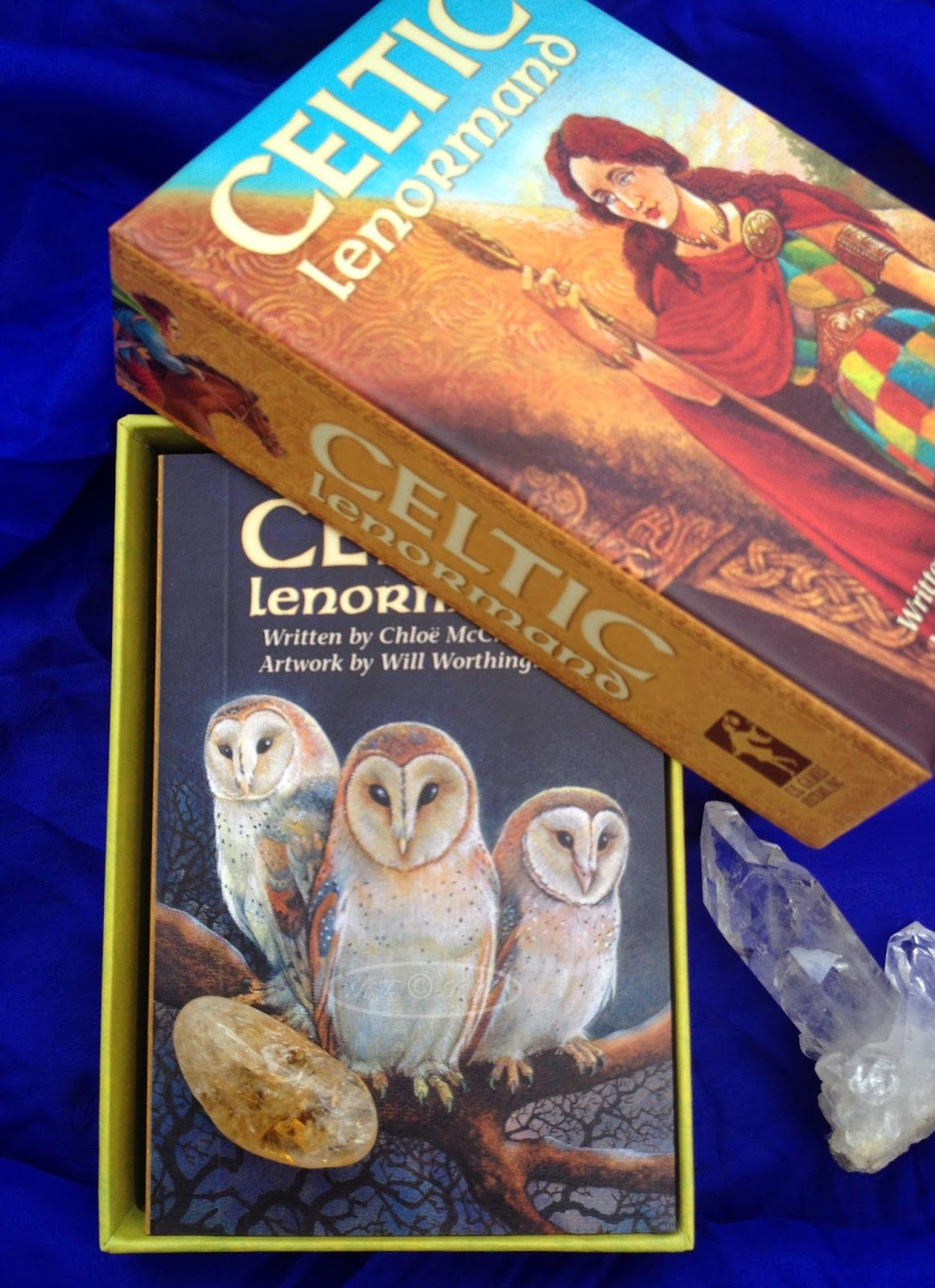 Kaleidoscope Tarot: First Impressions Review - Celtic Lenormand