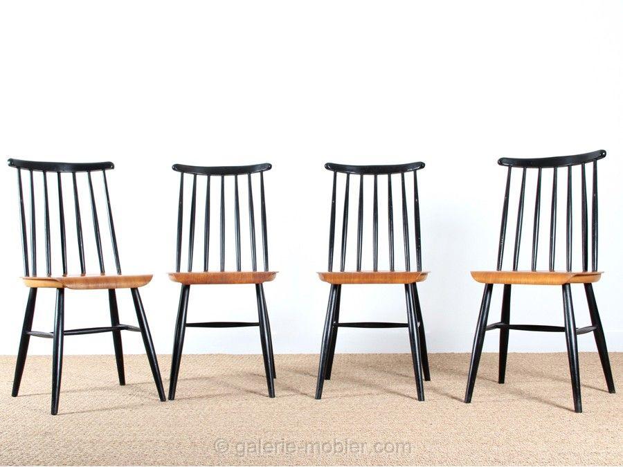 chaises fanett de ilmari tapiovaara con ues en 1949 pour