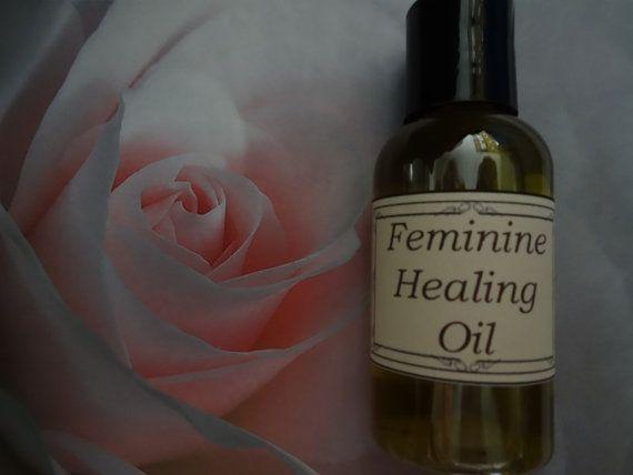 Feminine Healing Oil  2 oz.   www.etsy.com/shop/reddeergrove