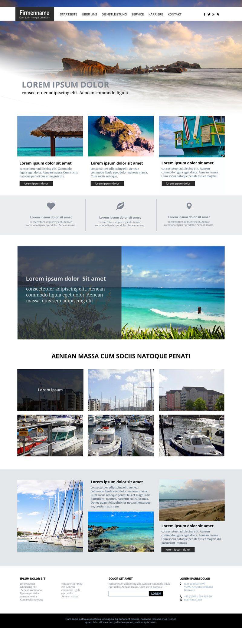 Typo3 Template / Responsive Theme | Web & Web_design | Pinterest ...