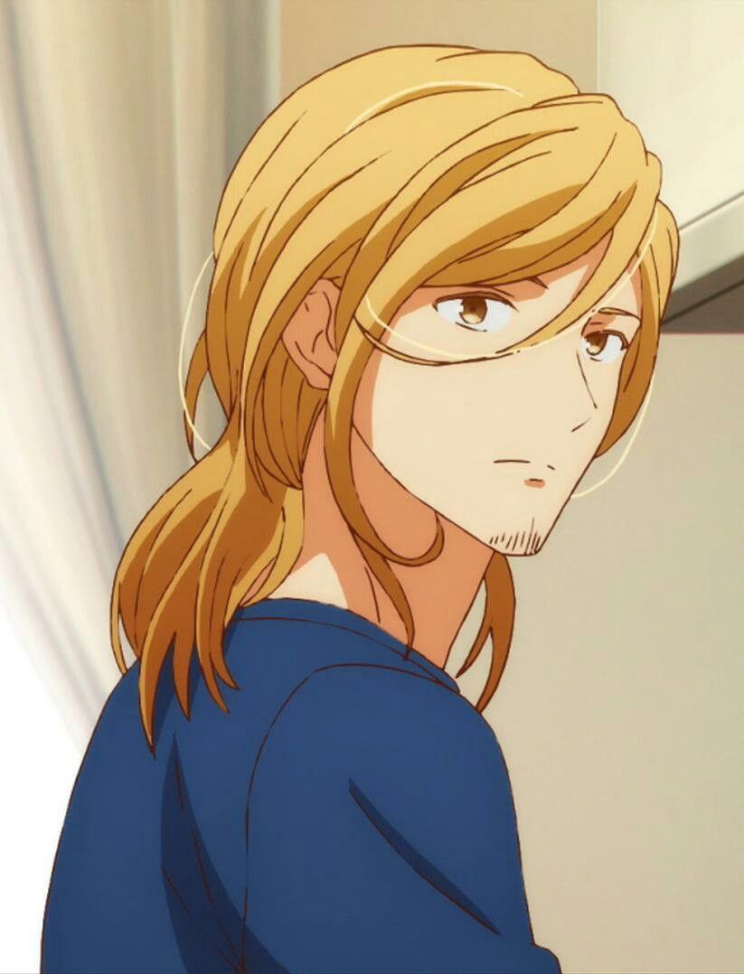 Given Kizu Natsuki Haruki S Hair Es Hermoso Anime Anime Guys Anime Boy