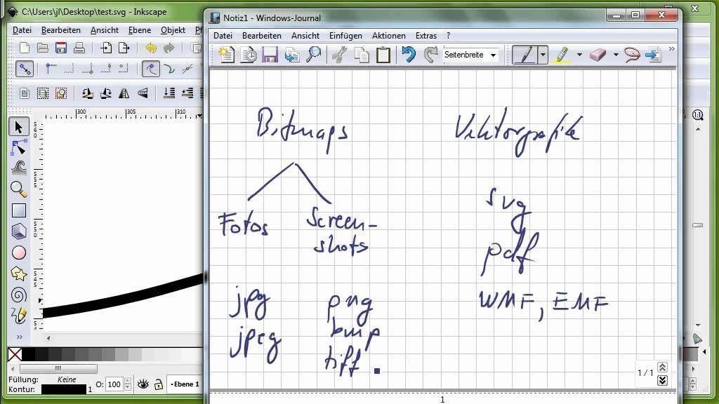 18 inkscape teil 1 vektorgrafik versus bitmaps svg pdf wmf jpg pn erstellen adobe noten vektor