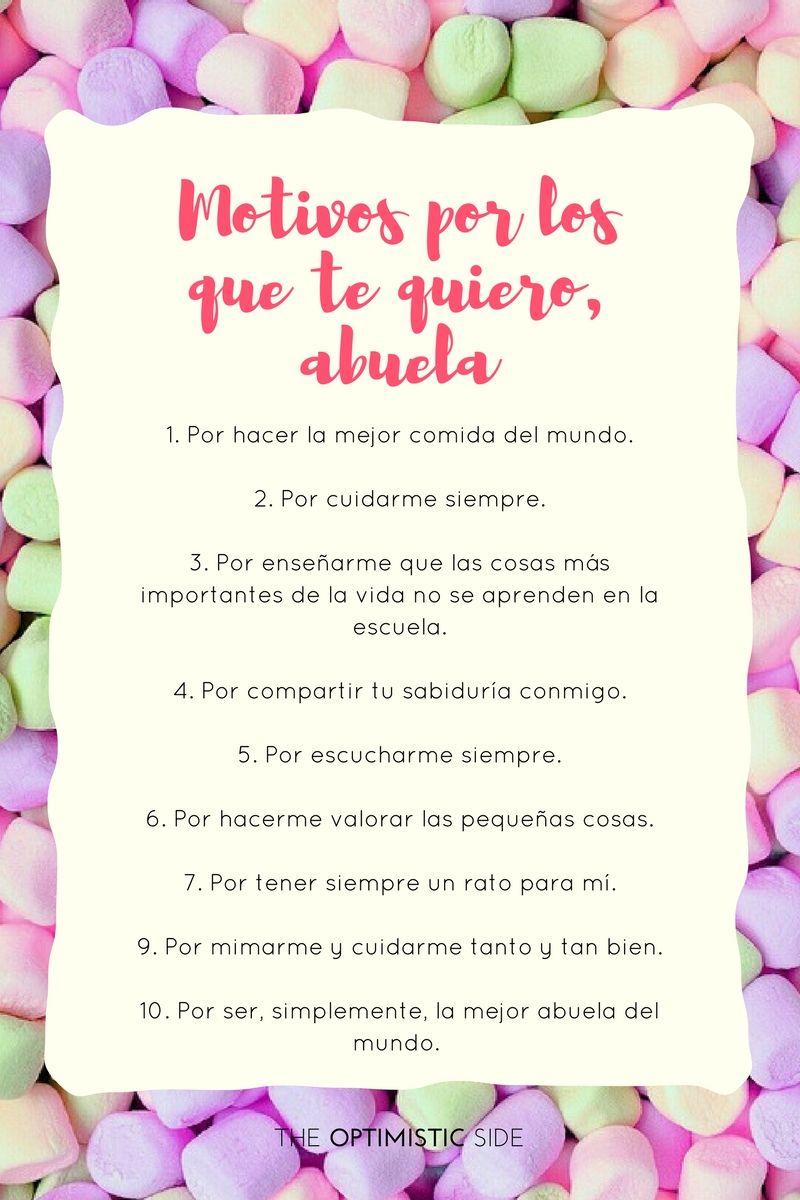80 Cosas Que Te Hacen La Mejor Abuela Del Mundo Regalos Para Abuelita Regalo Abuela Regalo Para Abuelos