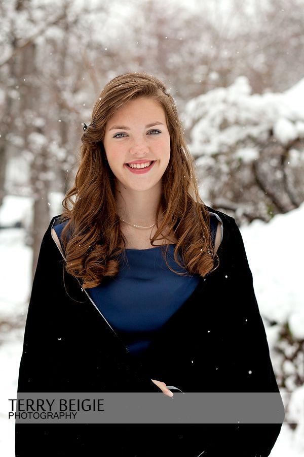 Teen Snow Photo Session Greene Virginia Www Terrybeigie Com