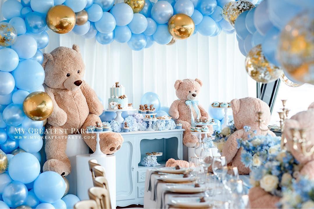 No Hay Descripcion De La Foto Disponible Bear Baby Shower Theme Baby Shower Balloons Teddy Bear Baby Shower Theme