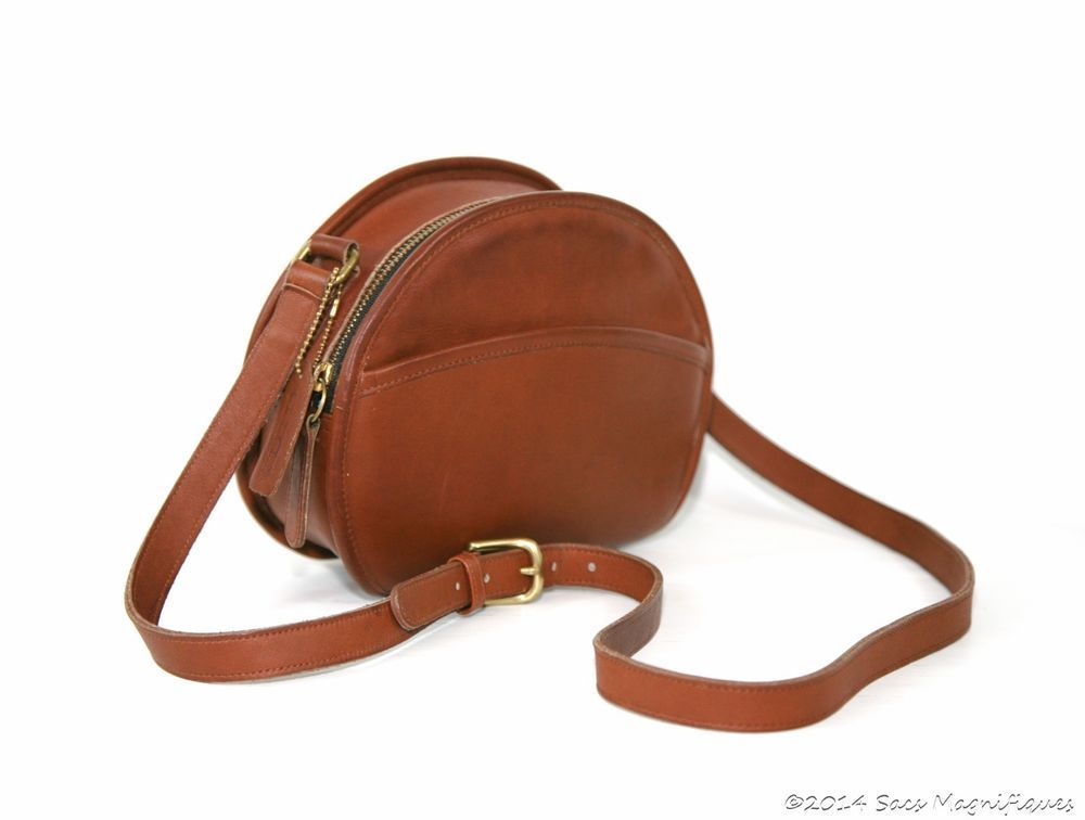 811f4aeb6bb8 Authentic Vintage Coach Chester Canteen Bag British Tan Whiskey Leather 9901   Coach  CrossBody