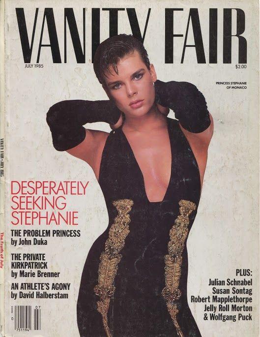 Stéphanie Grimaldi | Vanity Fair 1985