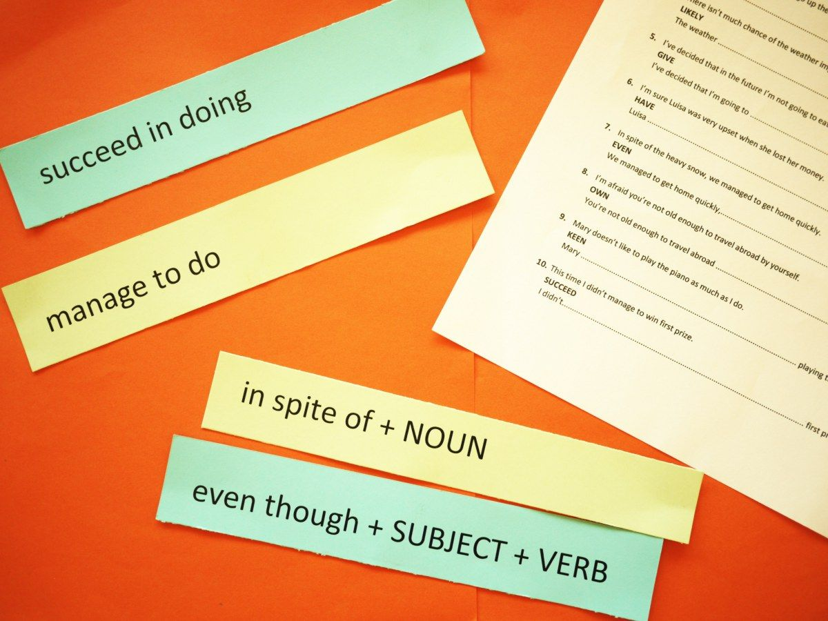 This activity combines paraphrasing skills with a children's memory game and can help students practise Sentence Transformation exercises the likes of which appear in the Cambridge exams. It takes ...