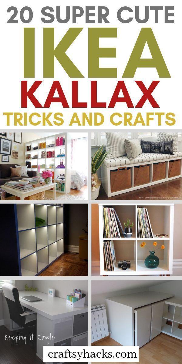 Photo of 20 IKEA KALLAX Hacks Your Home Needs – Craftsy Hacks
