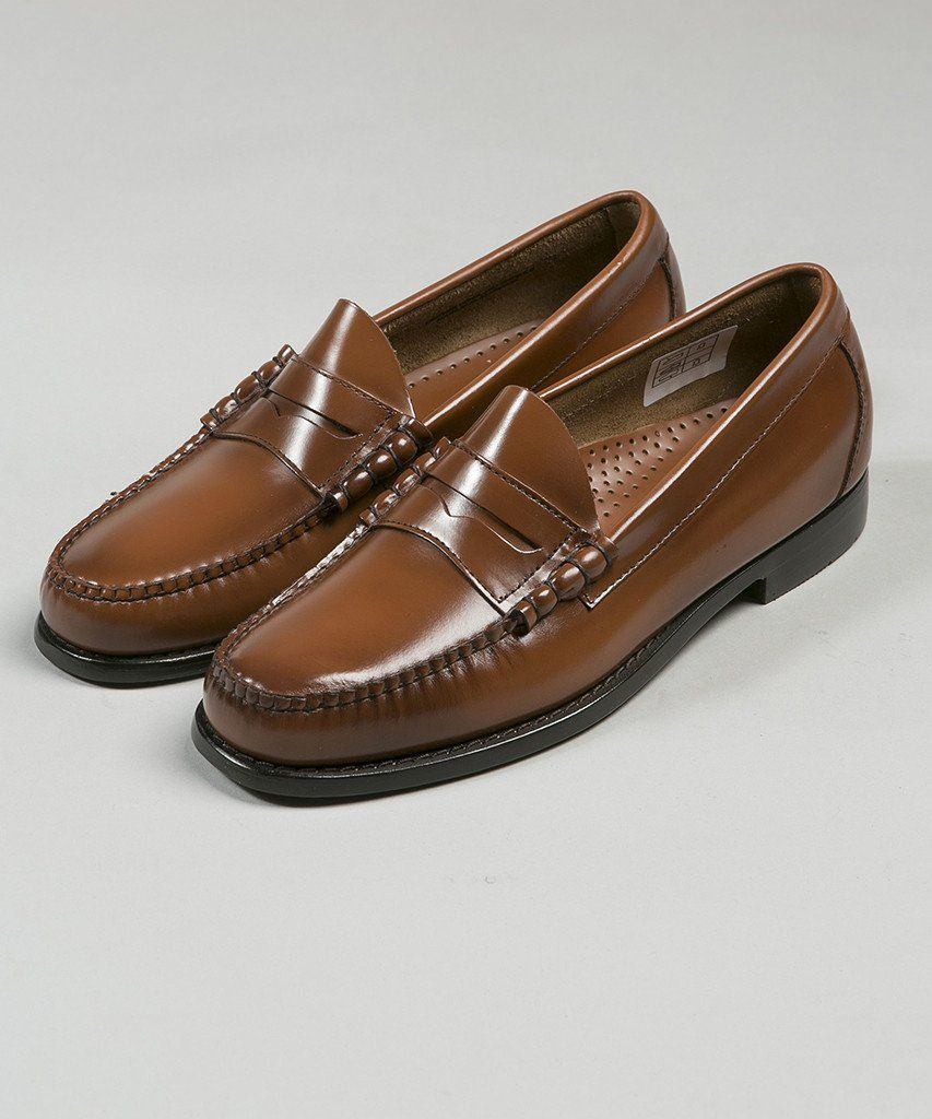 5f4f5f7321 Bass Weejuns Larson Penny Loafer Mid Brown