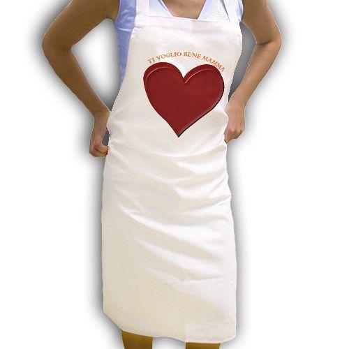 love cooking grembiule personalizzato