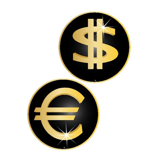 Euro Dollar Free Symbols Free Vector Free Vectors Pinterest