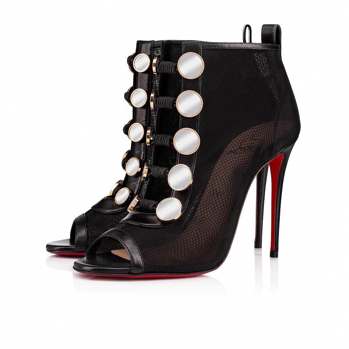 f1c3fd8ff95 Marikate 100 Version Black Leather - Women Shoes - Christian ...