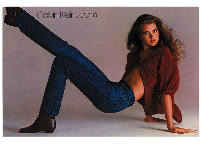 Calvin klein jeans ad 1984
