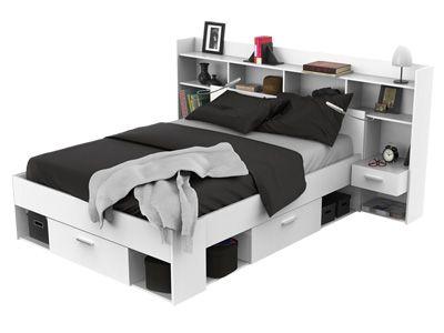 Mobel Jugendzimmer Kinder Und Jugendbetten Bett Chicago Farbe Weiss 140x200 Cm Artikelnummer 427855 Bett Jugendzimmer Haus