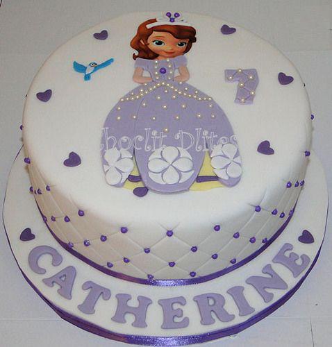 Stupendous Catherines Princess Sofia Cake With Images Sofia Cake Sofia Funny Birthday Cards Online Inifodamsfinfo